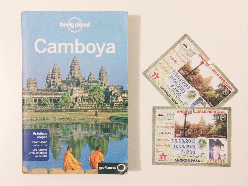 Pases Angkor Lonely Planet Camboya