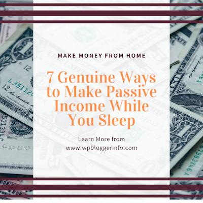 7 Genuine Ways to Make Passive Income While You Sleep