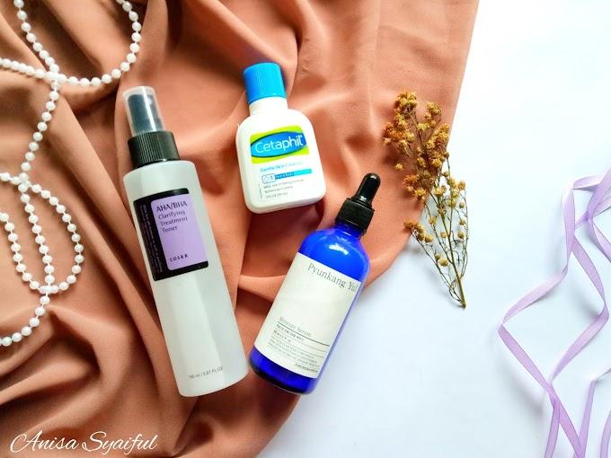 Top 3 Skincare Favorites Haloanisa 2018