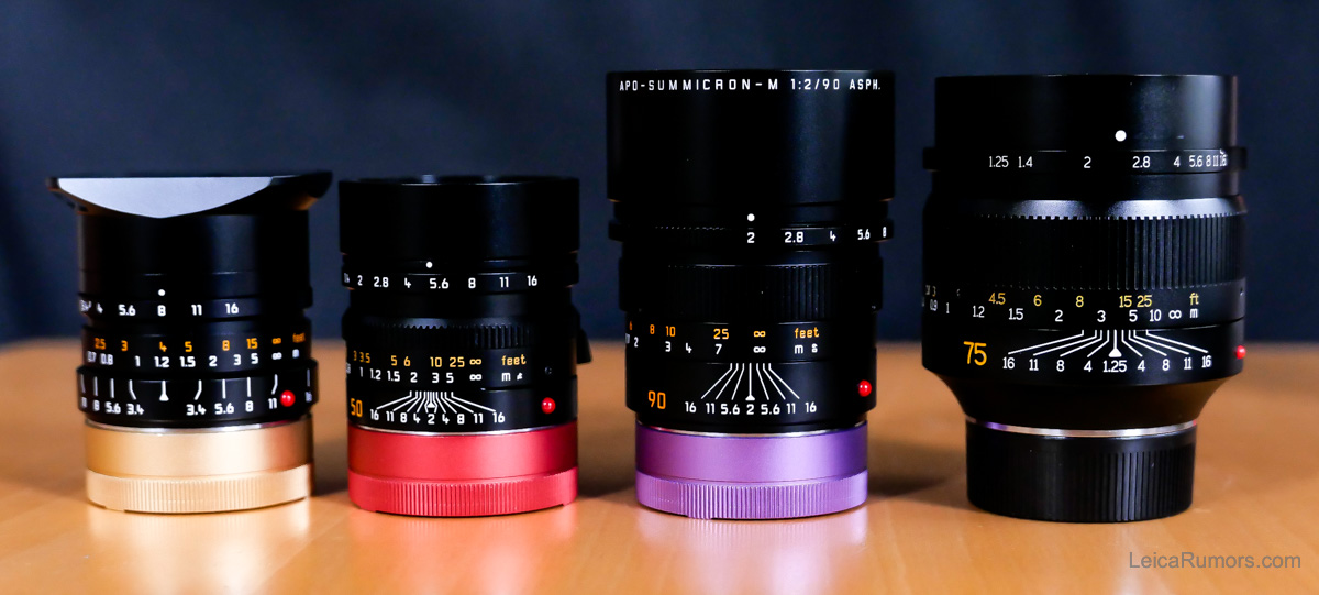 7artisans Photoelectric 75mm f/1.25 в сравнении с другими объективами для Leica M