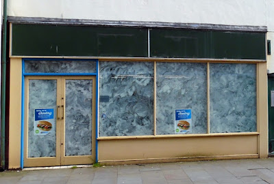 Still vacant - the Brigg shop formerly occupied by Greggs the national retailer