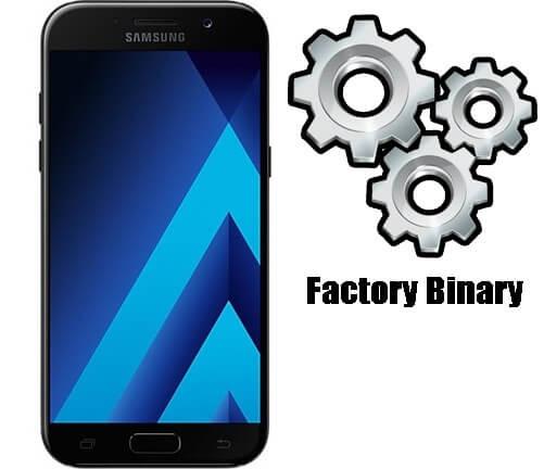 Samsung Galaxy A5 2017 SM-A520F Combination Firmware