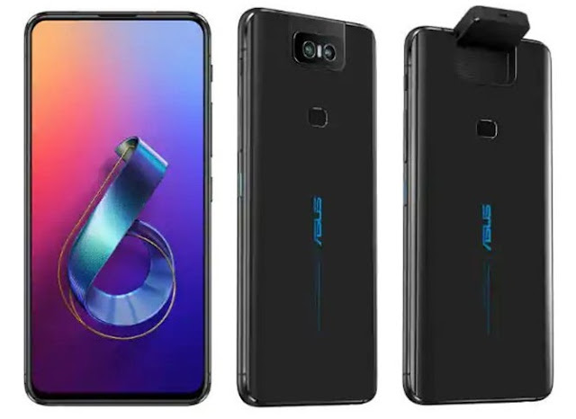 ASUS ZenFone 6 with 48MP flips up  camera, Snapdragon 855 chipset launched