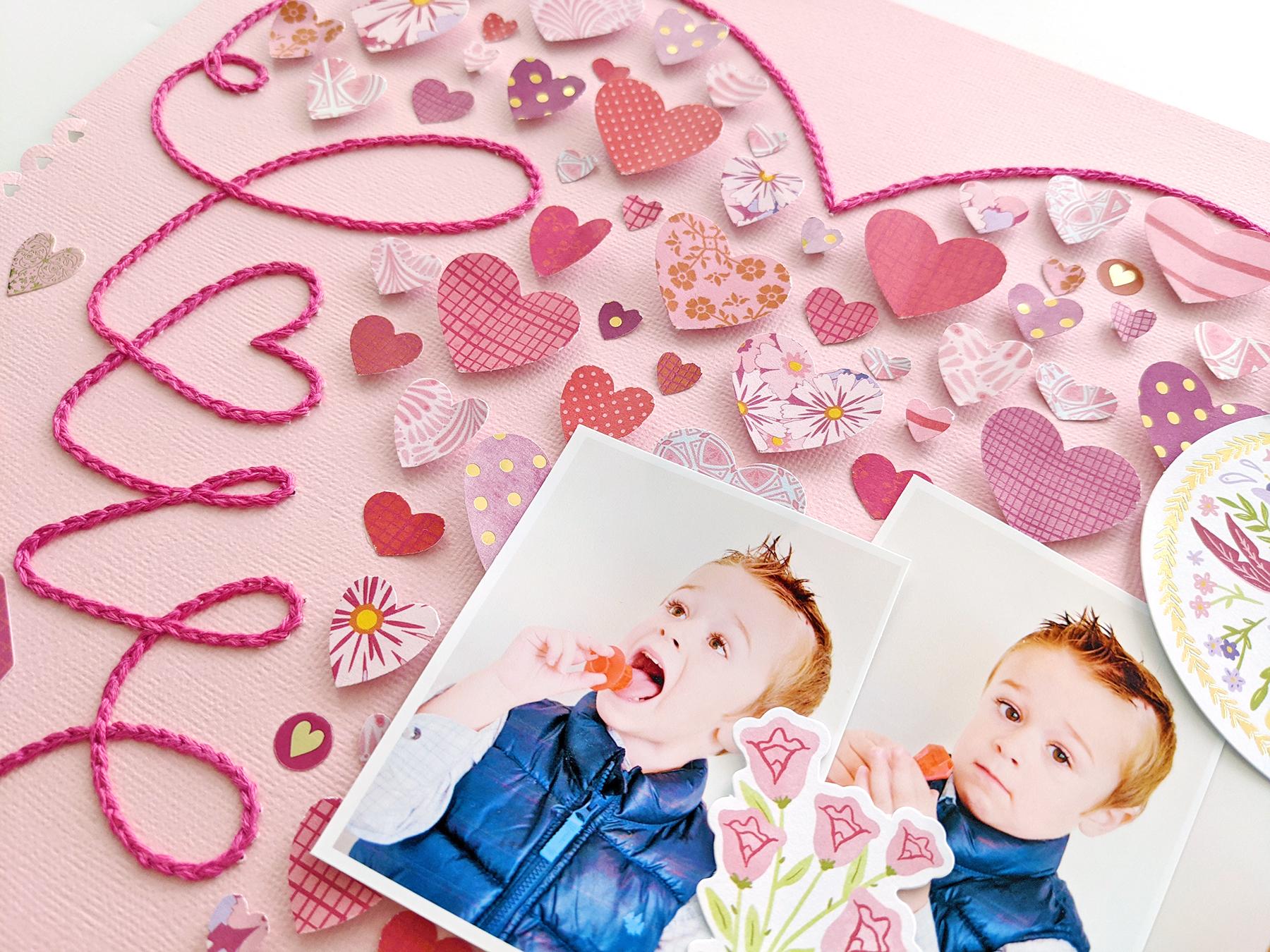Tighm 2 Love Hearts