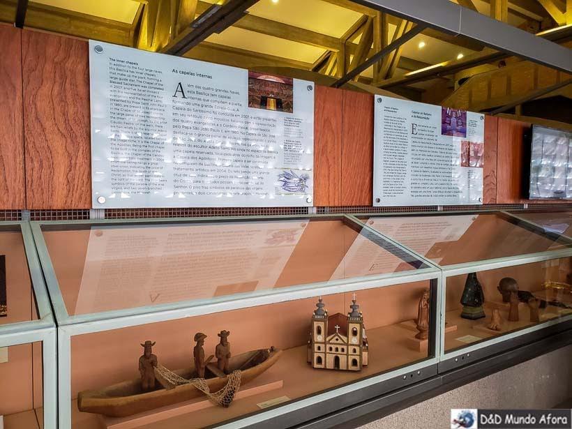 Exposição na Cúpula do Santuário Nacional de Aparecida
