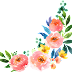 Water Colour Flower PNG 8