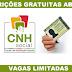 Detran abre inscrições para CNH gratuita  2019