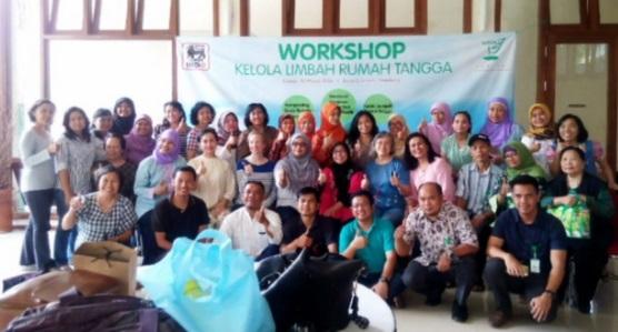 Peserta workshop Daur Ulang Sampah