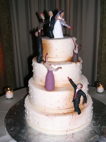 Bonnie & Clyde Cake Topper | Zazzle.com  |Bonnie And Clyde Cakes