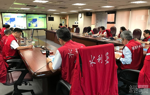 經濟部水利署召開視訊會議