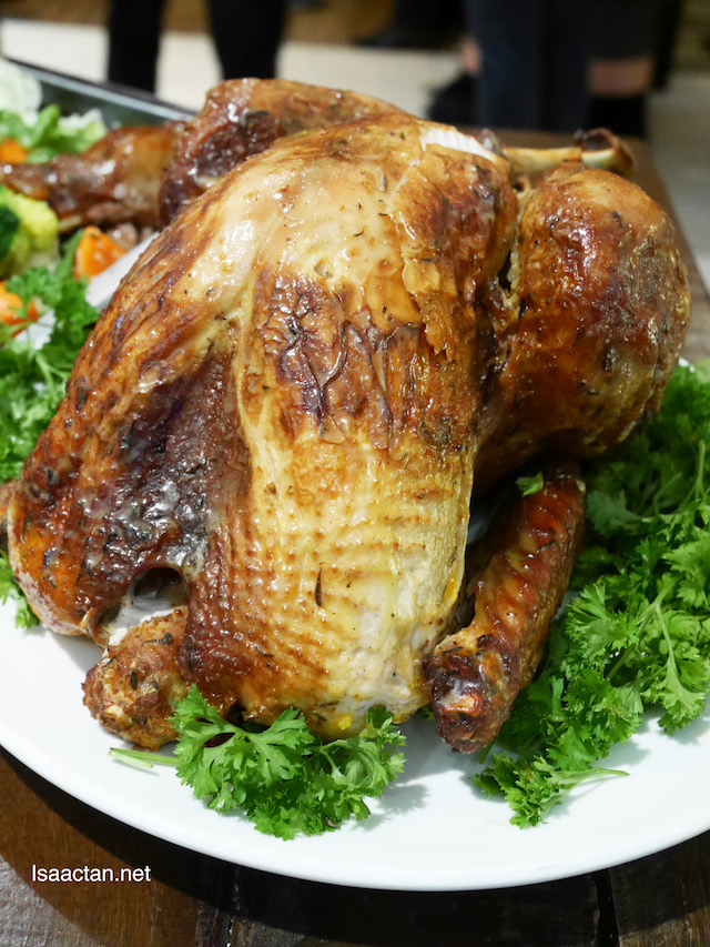 Whole turkey (raw weight: 5.2kg) for RM349.90 nett