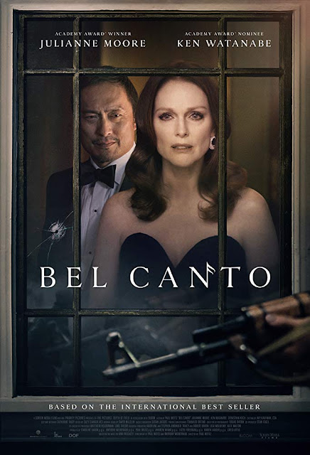 Julianne Moore and Ken Watanabe in Bel Canto based on the book by Ann Patchett
