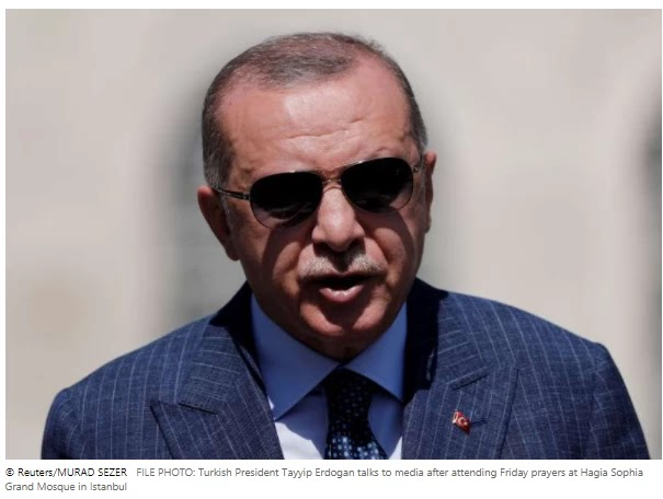 Turkey condemns Erdogan's French caricature