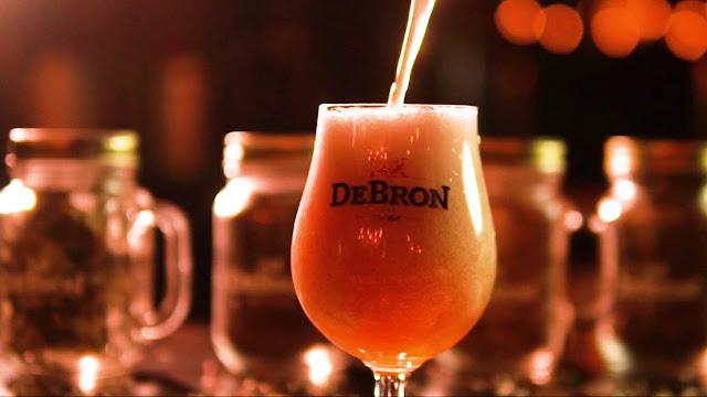 DeBron Bier lança nova cerveja com framboesa