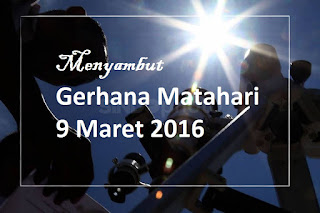gerhana matahari 9 Maret 2016