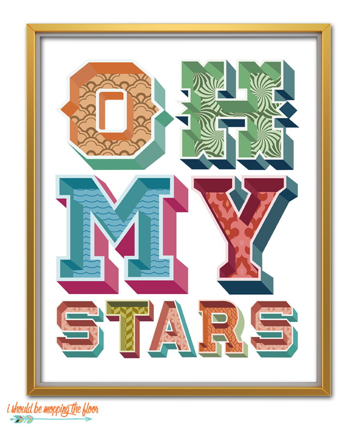 Oh My Stars Quote