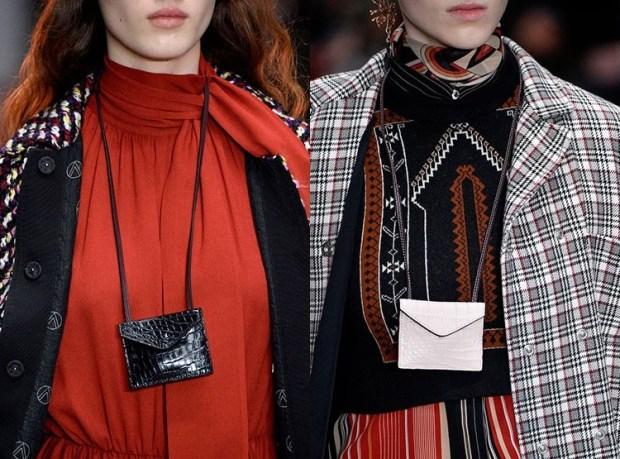 Fall-Winter 2018-2019 Ladies Envelope Handbags Fashion Trends