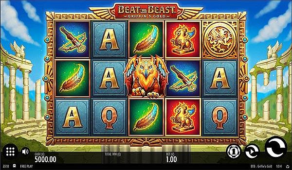Main Gratis Slot Indonesia - Beat The Beast Griffin's Gold (Thunderkick)