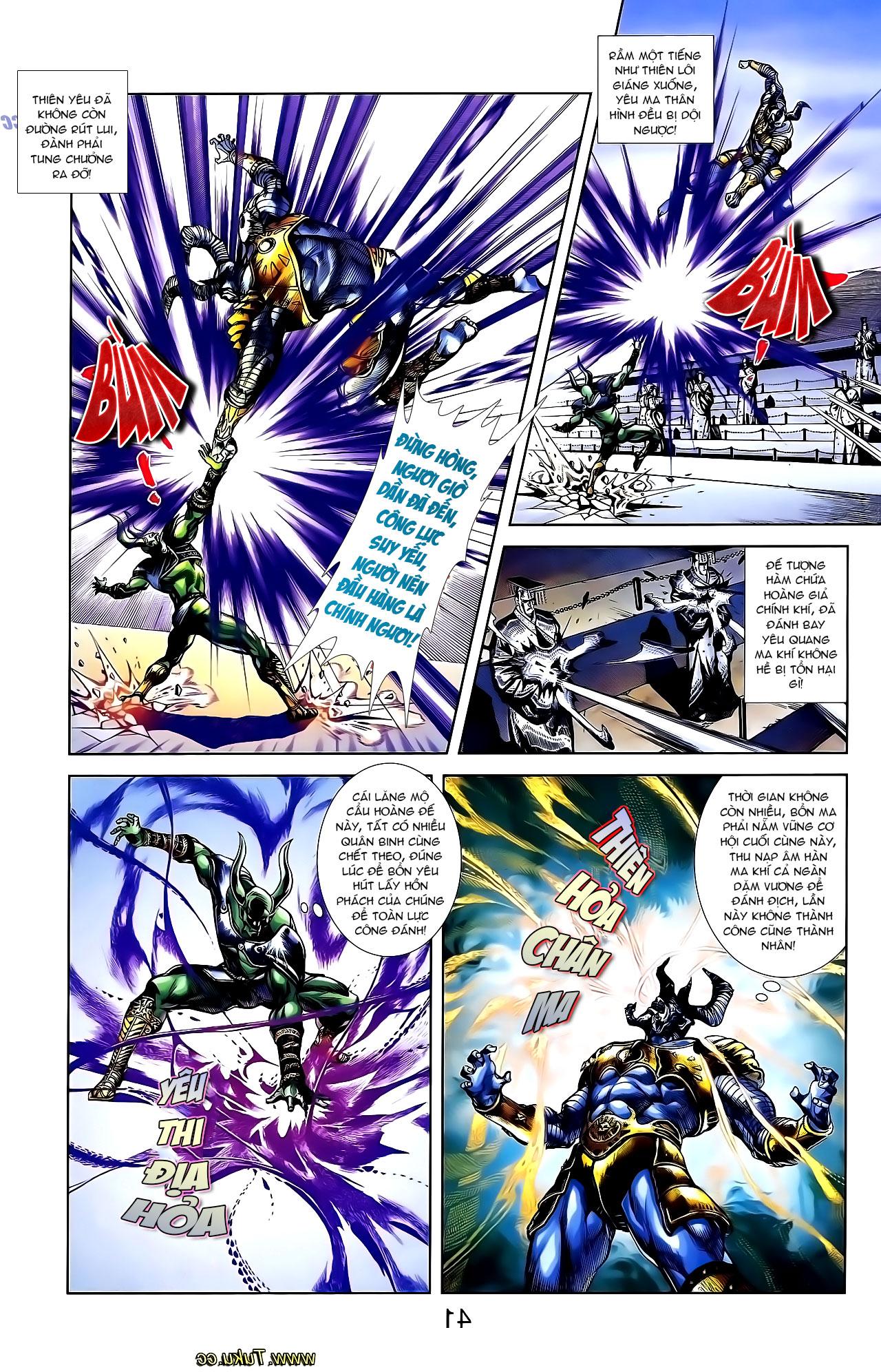 Cơ Phát Khai Chu Bản chapter 137 trang 5
