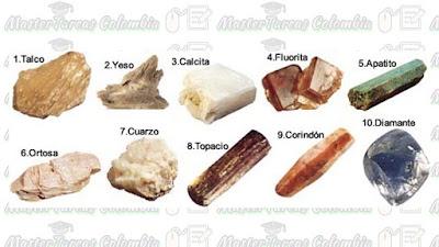 dureza de un mineral