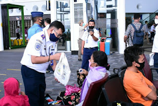 Bandara Kualanamu Perketat Protokol Kesehatan