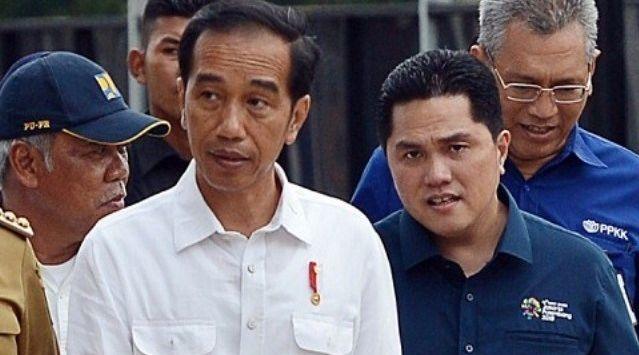 Erick Thohir Digoyang Reshuffle, Padahal Kinerjanya Puaskan Jokowi, Ternyata Ini Gara-Garanya
