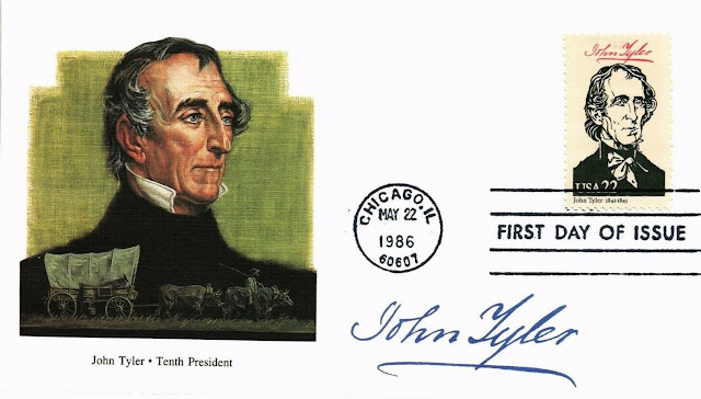John Tyler, 10th President FDC