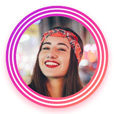 How to Make a Circle Border on an Instagram Profile
