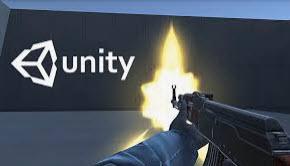 عناصر مشروع لعبة Unity ثلاثية الأبعاد على Unity Game Engine