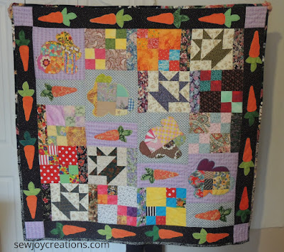 Bunny Lady quilt