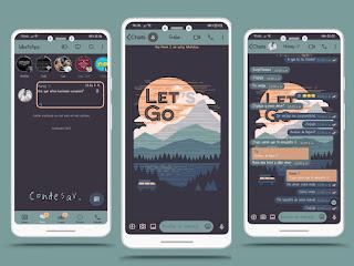 Lets Go Theme For YOWhatsApp & Mn WhatsApp By Ethel
