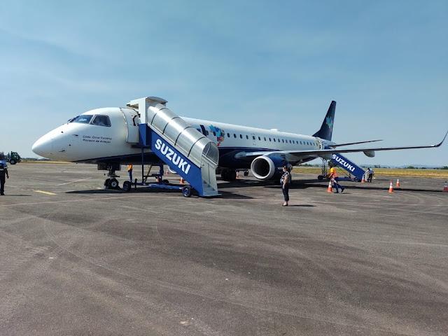 Azul volta a operar em Ji-Paraná