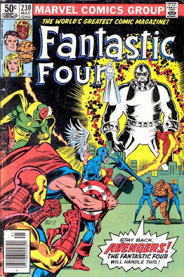 Fantastic Four#230, the Avengers