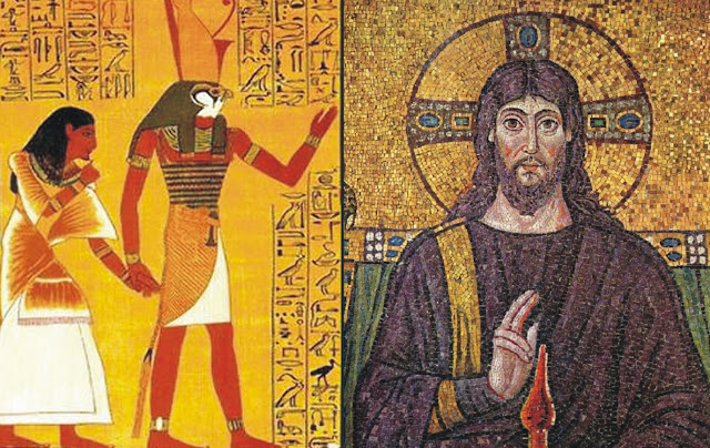 Resultado de imagem para A Religião Egípcia e o Cristianismo