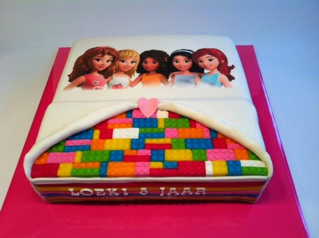 lego friends taart Lego Friends taart met print | Taarten; Gemaakt door Jonne lego friends taart