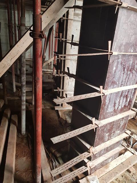 kolon kalıbı nasıl kurulur, kolon kelepçesi nedir