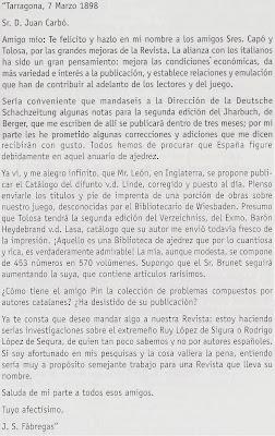 Carta de Fàbregas a Joan  Carbó