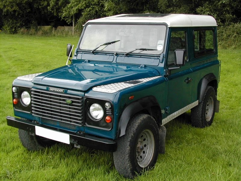Service Manual Land rover defender Diff Lock Linkage diagrams