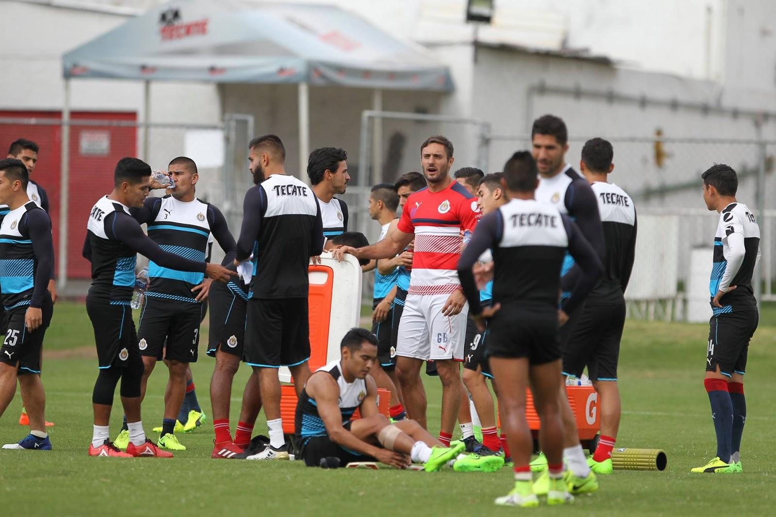 El equipo de Guadalajara.