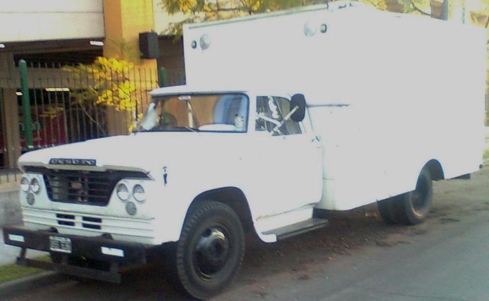 Camión Argentino: De Soto D-400/DP-400 (1961-1967)