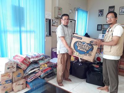 DPC Partai PKS Sukadiri Salurkan Bantuan Untuk Korban Tsunami