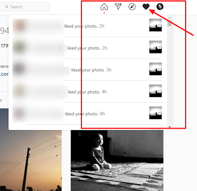 See the Instagram posts your friends recently liked or commented on.