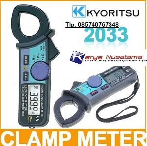 Jual Clamp Meter kyoritsu-2033 Termurah di Medan