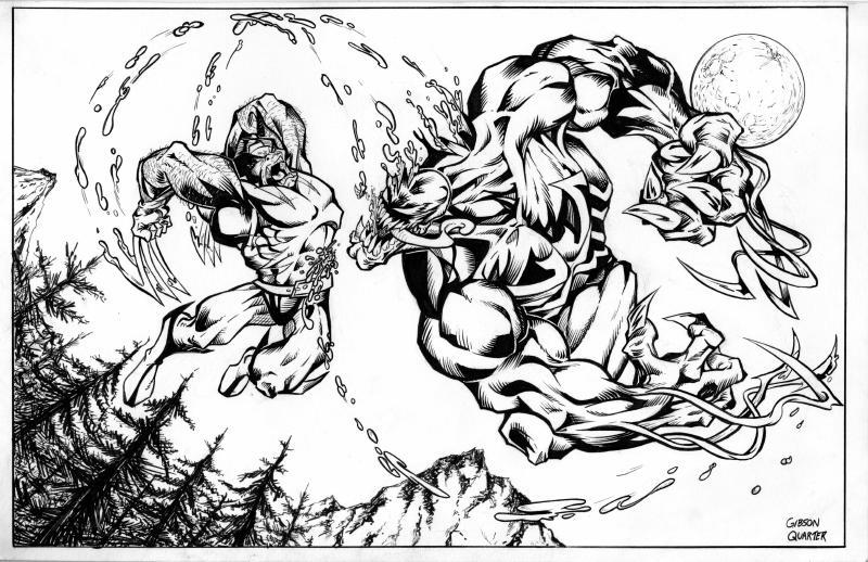 Desenhos Do Venom Para Colorir