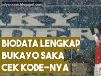 Biodata Bukayo Saka Gelandang Tim Arsenal