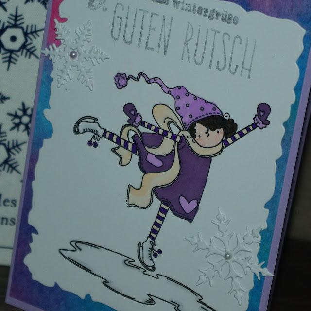 [DIY] Warme Wintergrüße & Guten Rutsch Stamping Bella Grußkarte