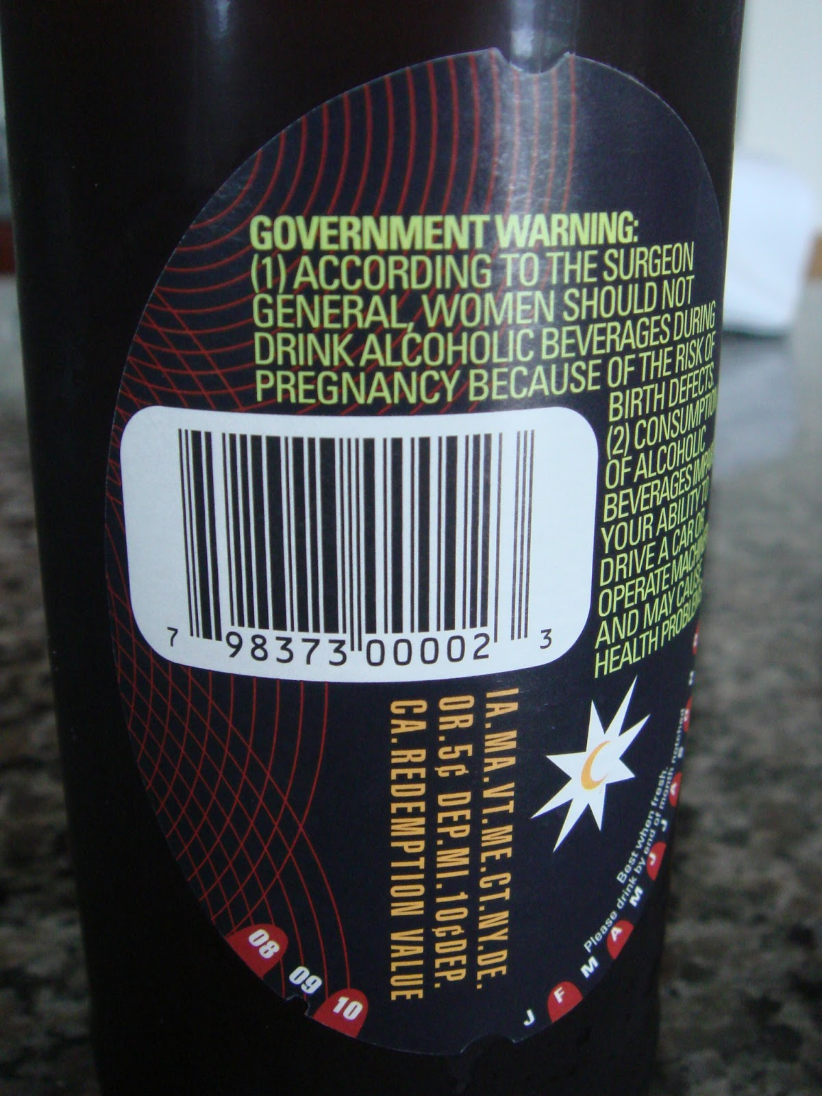 This is a photo of Epic Funny Beer Warning Labels