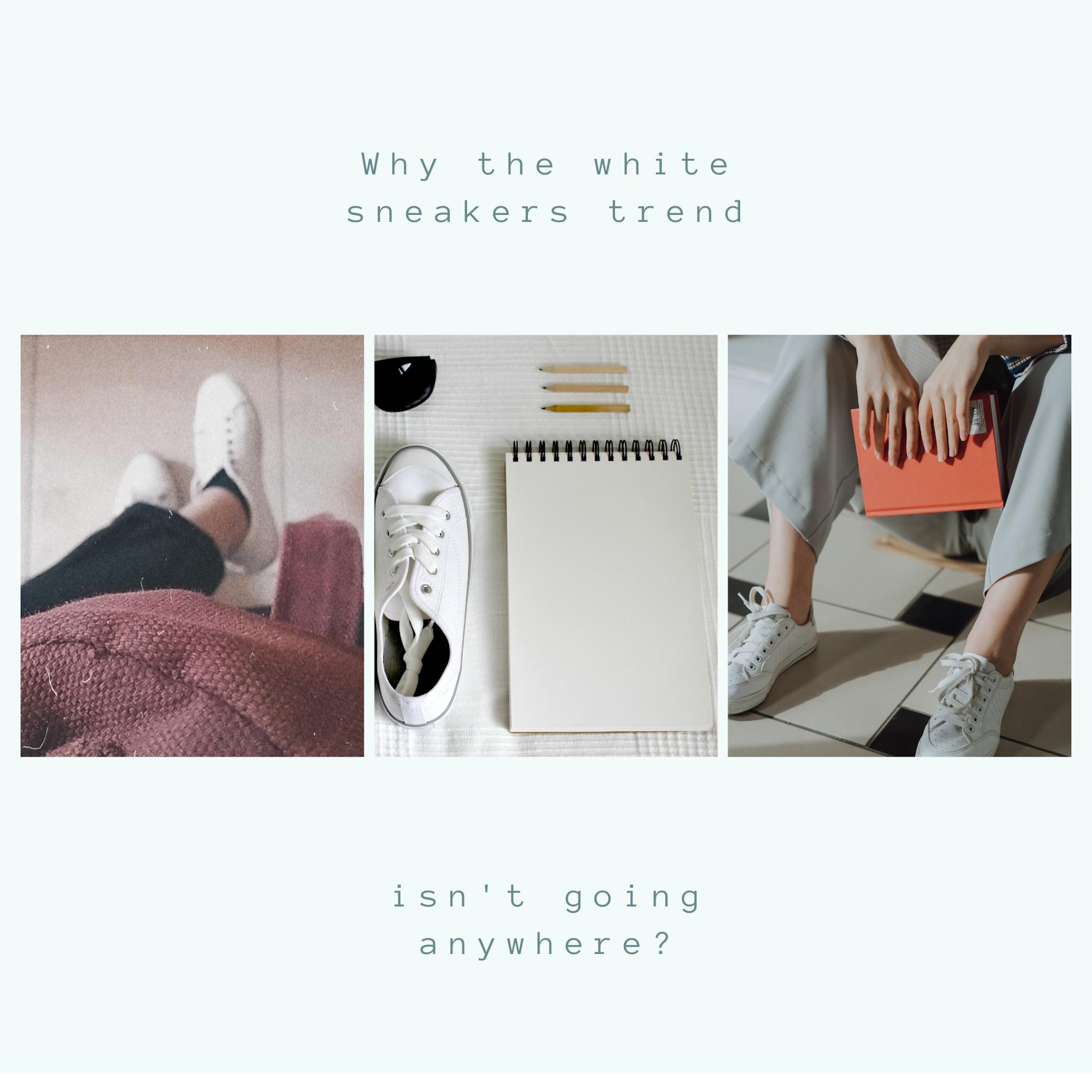 Kenapa kita wajib punya sneakers putih?