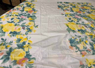 Border Print Fabric from SR Harris for Butterick 6674