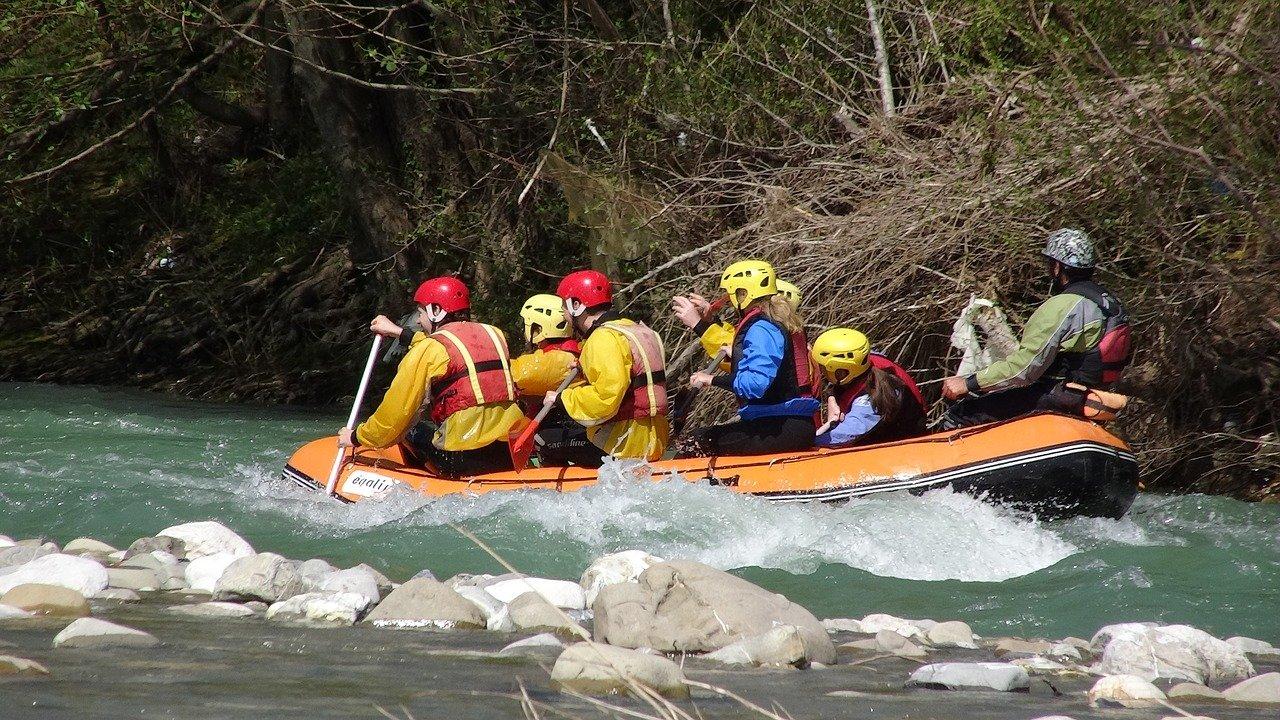 Stream Rafting